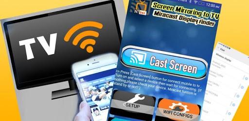 Screen Mirroring TV : Cast phone screen to TV pc screenshot
