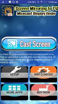 Screen Mirroring TV : Cast phone screen to TV APK screenshot 1