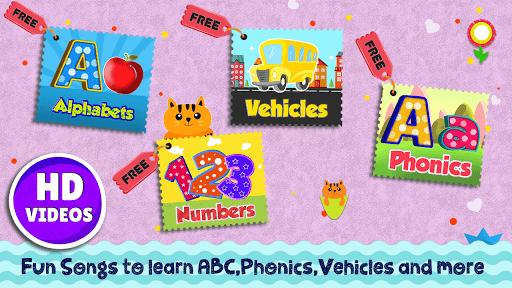 Kids Preschool Learning Songs & Offline Videos APK screenshot 1