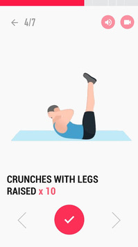 Abs Workout APK screenshot 1