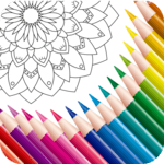 Color Mandala Book -  Mandala Coloring Art icon