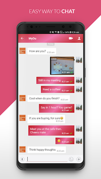 HiU - Messenger APK screenshot 1