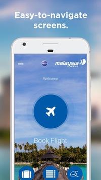 Malaysia Airlines APK screenshot 1