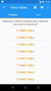 Times Tables APK screenshot 1
