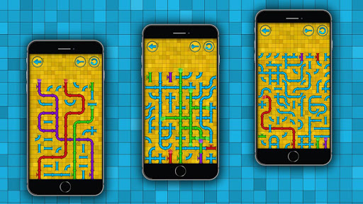 Pipe - logic puzzles APK screenshot 1
