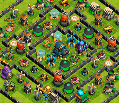 Battle of Zombies: Clans War APK screenshot 1