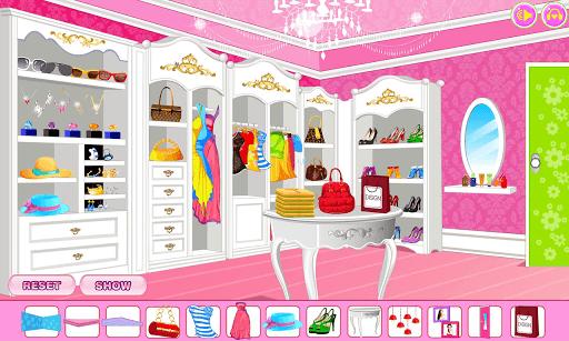 Decorate your walk-in closet APK screenshot 1