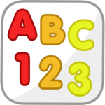 Primary English Letters Numbers Animal Colors icon
