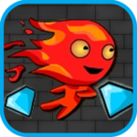 Lava boy and Ice girl 3 : Crystal Temple icon
