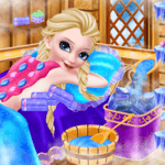 Icy Queen Spa Makeup Party icon