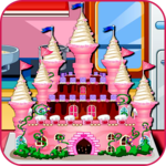Princess Castle Cake Cooking icon