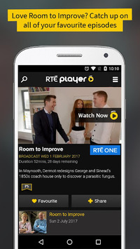 RTÉ Player APK screenshot 1