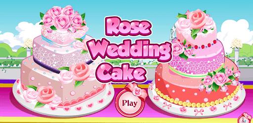 Rose Wedding Cake Game pc screenshot