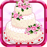 Rose Wedding Cake Game icon