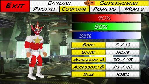 Super City (Superhero Sim) APK screenshot 1