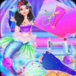 Tailor Mermaid Tail Dress icon