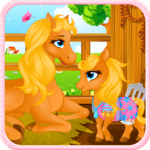 Pony Gives Birth Baby Games for pc icon