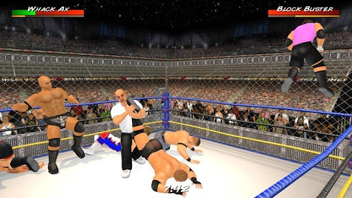 Wrestling Revolution 3D pc screenshot 1