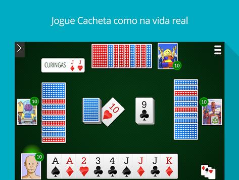 Cacheta Gin Rummy Online APK screenshot 1