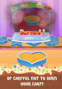 Cake Master Cooking - Food Design Baking Games APK screenshot 1