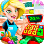 Supermarket Manager: Cashier Simulator Kids Games icon