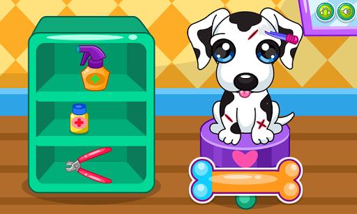 Caring for puppy salon APK screenshot 1