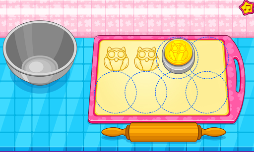 Cook owl cookies for kids APK screenshot 1