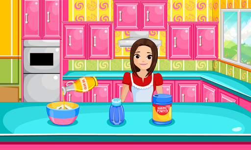 Cooking bubble candy pizza APK screenshot 1