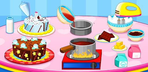 Cooking chocolate cake pc screenshot
