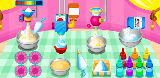 Cooking colorful cupcakes pc screenshot