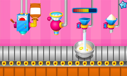 Cooking colorful cupcakes APK screenshot 1