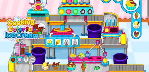 Cooking colorful ice cream pc screenshot
