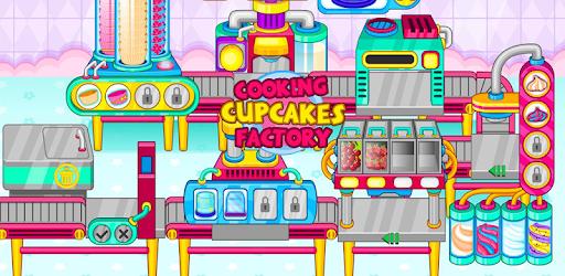 Cooking cupcakes factory pc screenshot