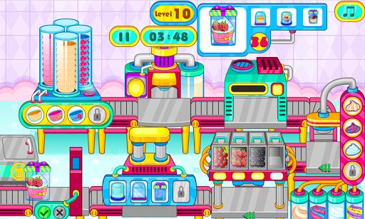 Cooking cupcakes factory APK screenshot 1