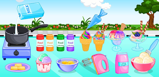 Cooking ice cream and gelato pc screenshot