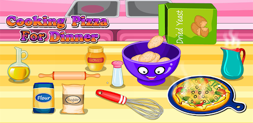 Cooking pizza for dinner pc screenshot