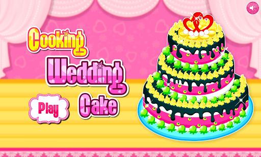 Cooking wedding cake APK screenshot 1