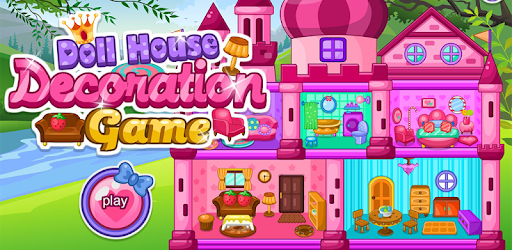 Doll house decoration game pc screenshot