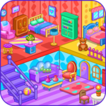 Doll house decoration game for pc icon