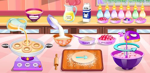 Donuts cooking games pc screenshot