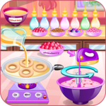 Donuts cooking games APK icon