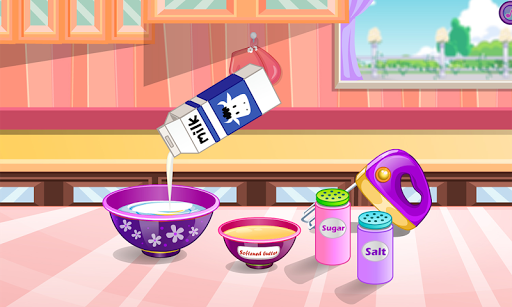 Donuts cooking games APK screenshot 1