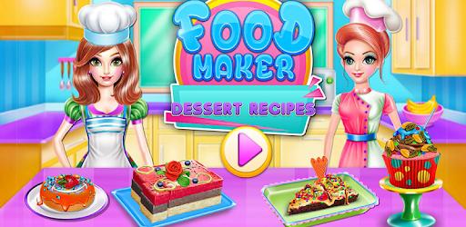 Food maker - dessert recipes pc screenshot