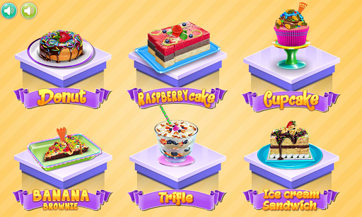 Food maker - dessert recipes APK screenshot 1