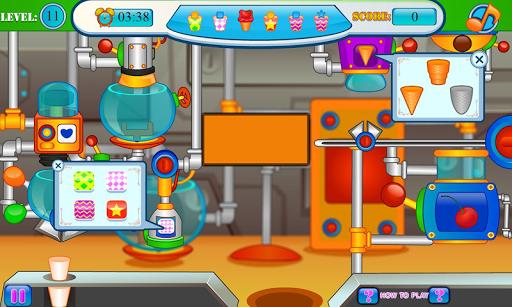 Ice cream and candy factory APK screenshot 1