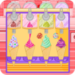 Ice cream cone cupcakes candy icon