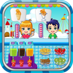 Ice cream maker game APK icon