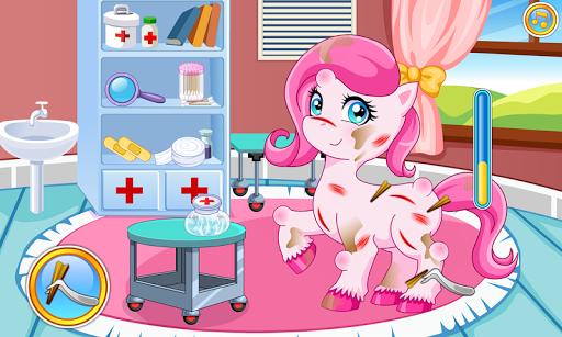 Pony doctor game APK screenshot 1