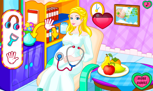 Pregnant mommy emergency APK screenshot 1