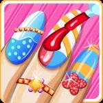 Pretty nail salon makeover icon